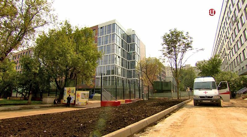 Многопрофильный центр на территории Морозовской больницы