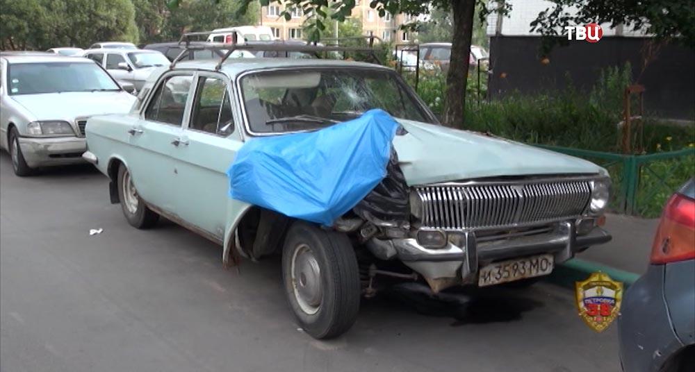 Автомобиль Газ-24
