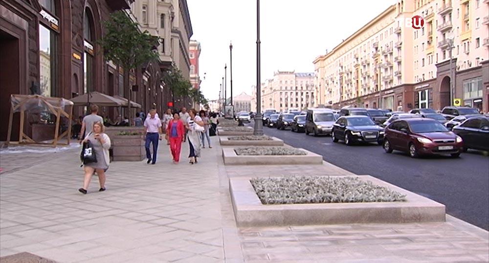 Тверская улица после реконструкции