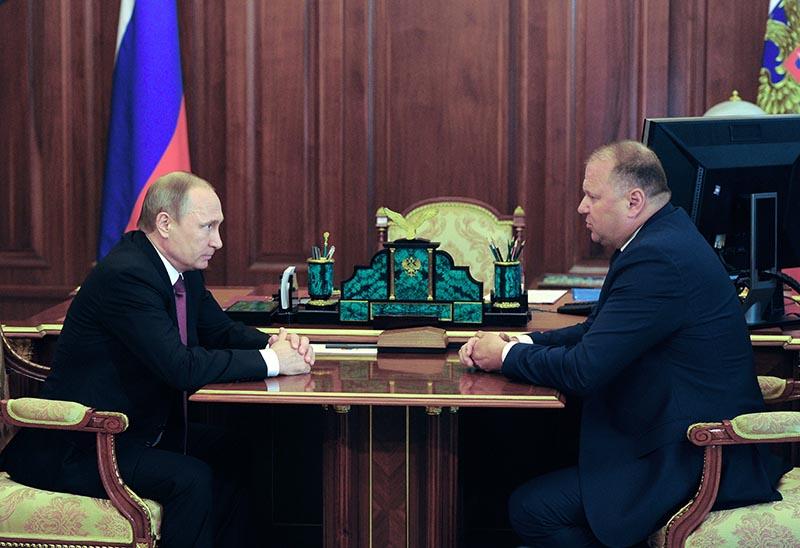 Полномочный представитель президента России в Северо-Западном федеральном округе Николай Цуканов