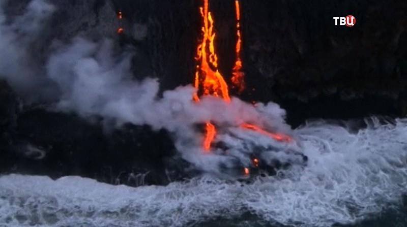 Извержения вулкана Килауэа