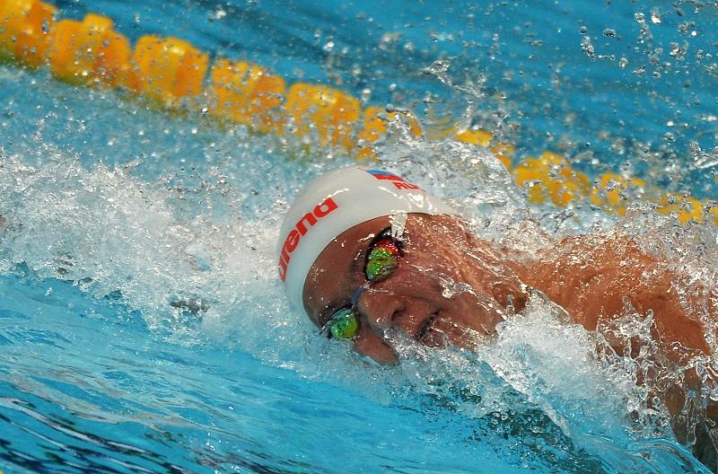 Российский пловец Никита Лобинцев