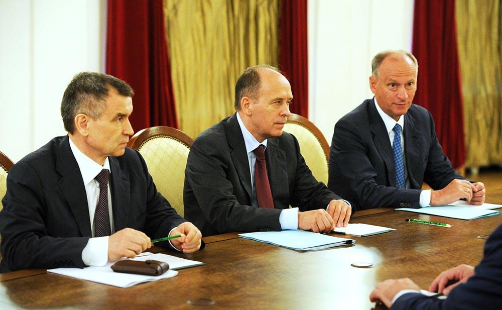 Заседание постоянных членов Совбеза России