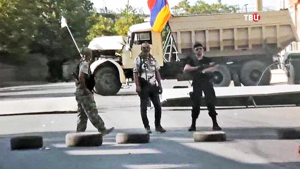 Захватившие полицейский участок в Ереване