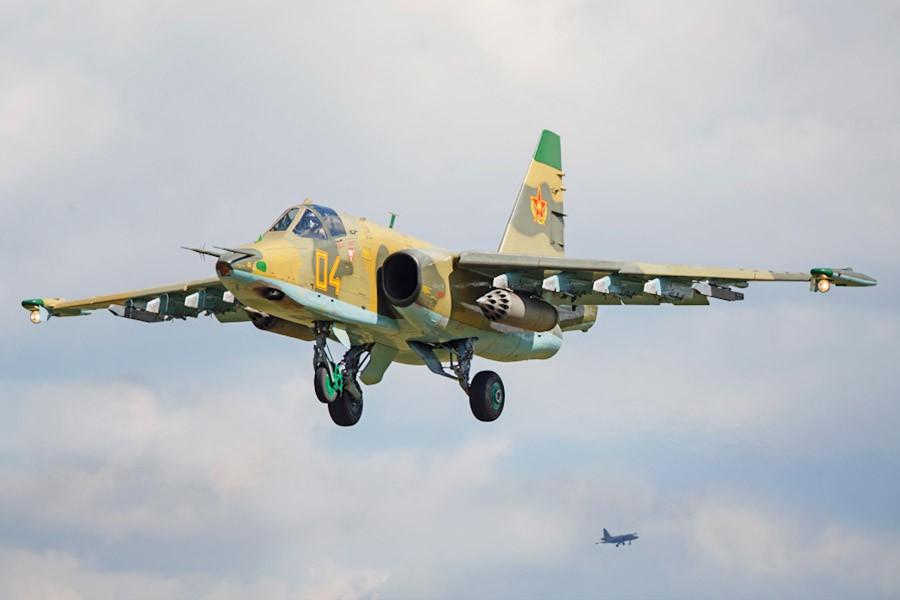 Истребитель Су-25 ВКС России