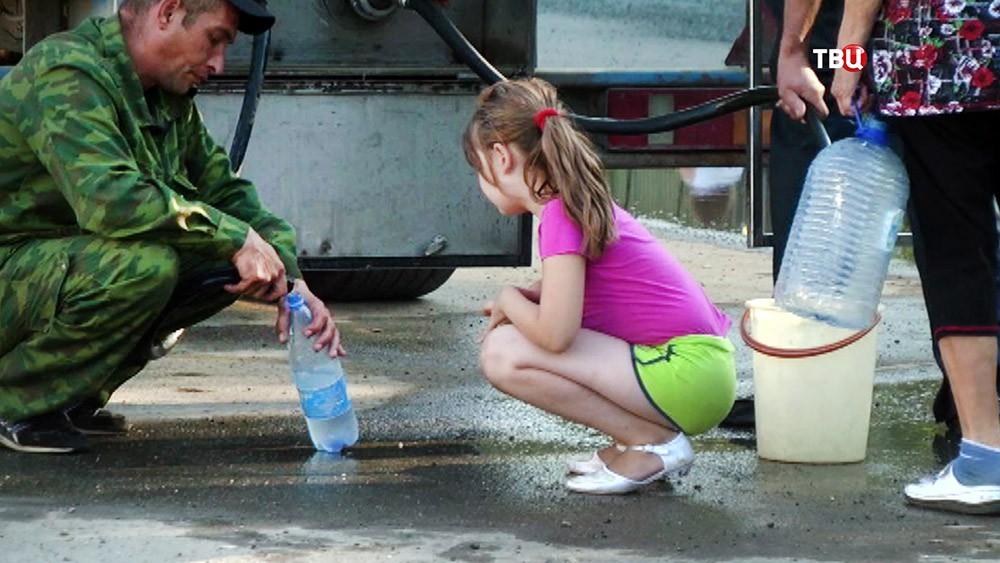 Подвоз питьевой воды для жителей