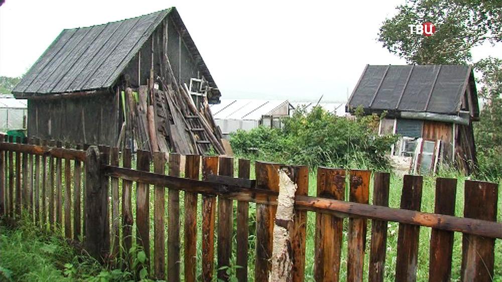 Поселок в камчатской области
