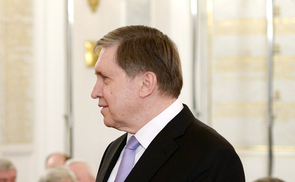 Помощник президента Юрий Ушаков