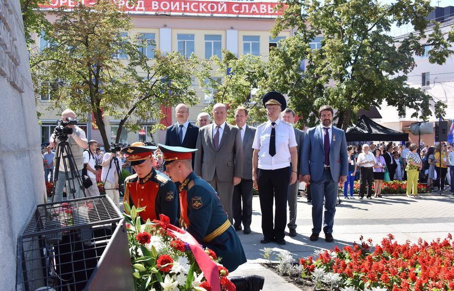 Лидер КПРФ Геннадий Зюганов посетил город Орел