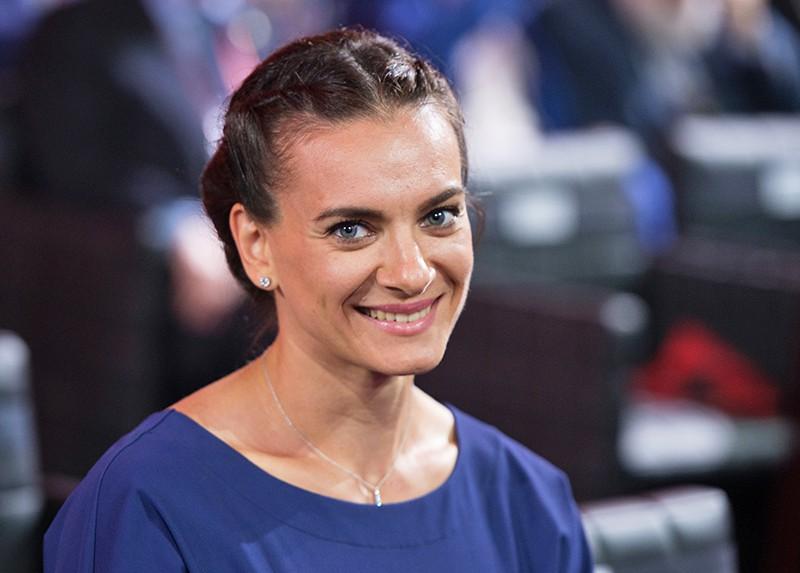 Мастер спорта России по легкой атлетике Елена Исинбаева