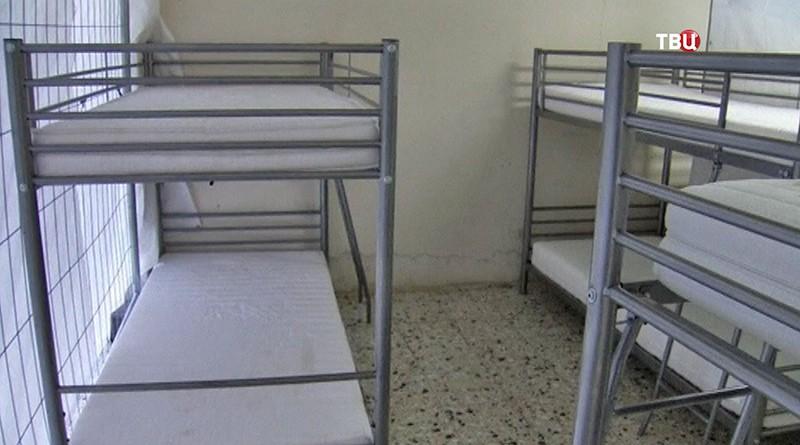 Спальная для беженцев