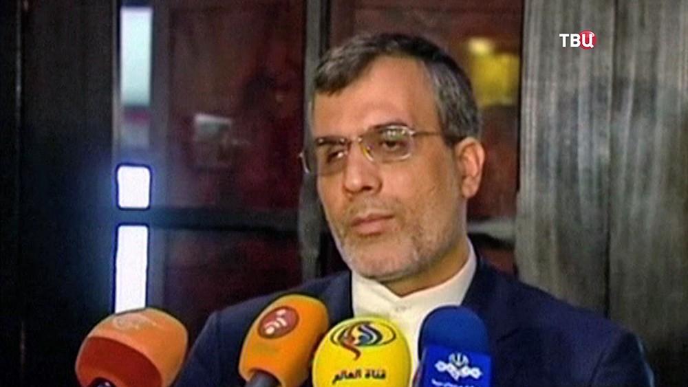 Заместитель министра иностранных дел Ирана Хусейн Джабер Ансари
