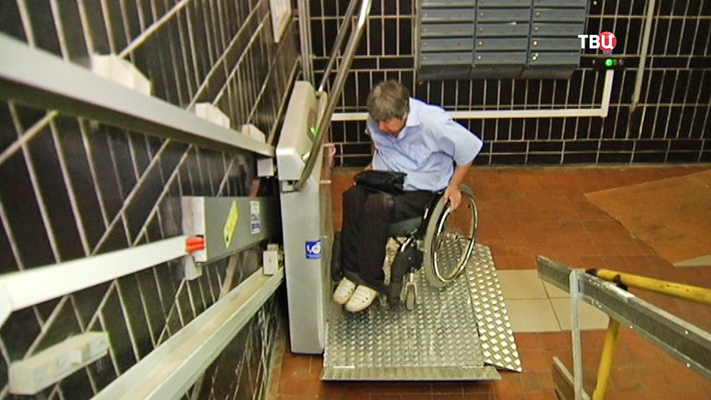Механические пандусы для инвалидов