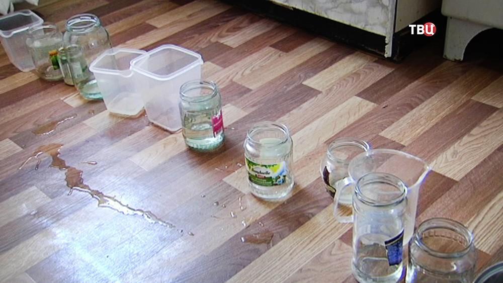 Потопом в квартире