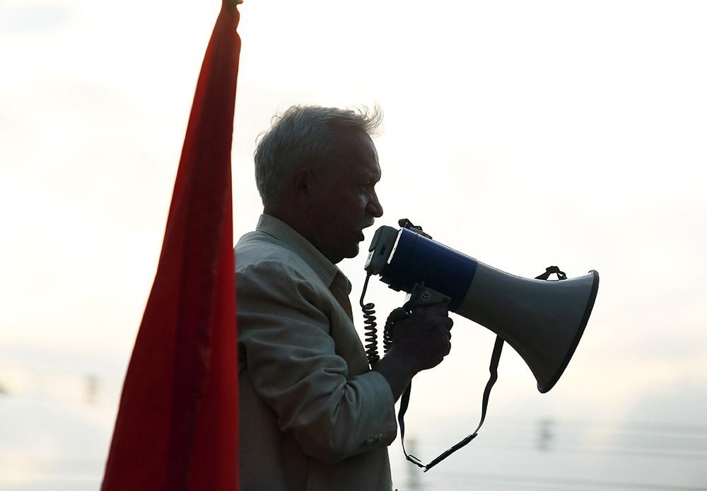 Кандидат в депутаты Госдумы Владимир Лакеев