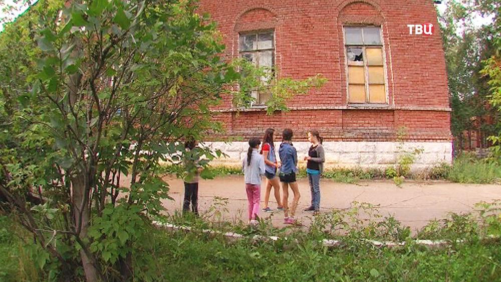 На месте стрельбы в Иркутской области