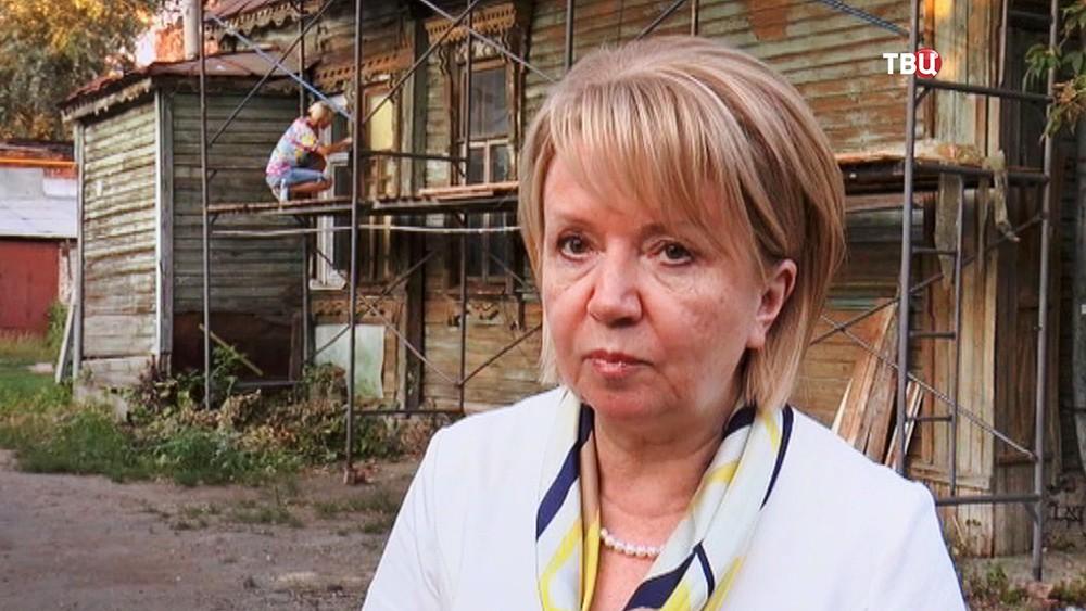 "Председатель партии ""Яблоко"" Эмилия Слабунова посетила Самару"