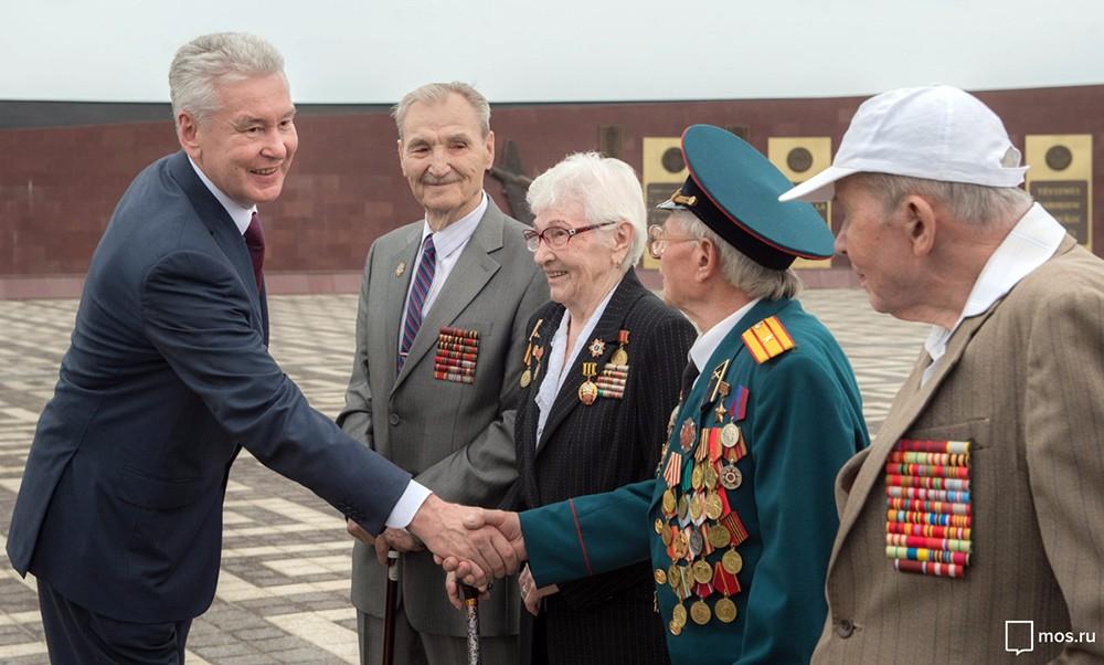 Сергей Собянин встретился с ветеранами