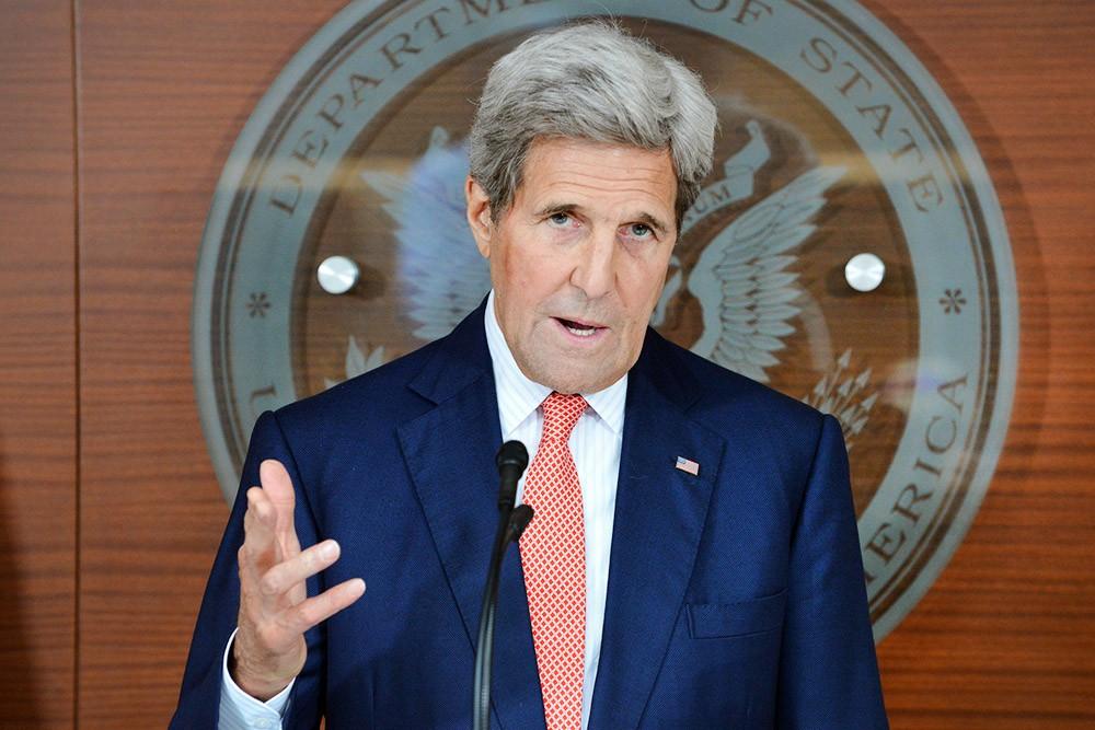 Экс-госсекретарь США Джон Керри