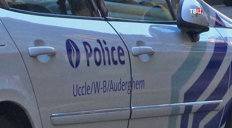 Полиция в Брюсселе