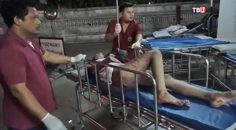 Взрыв в Таиланде