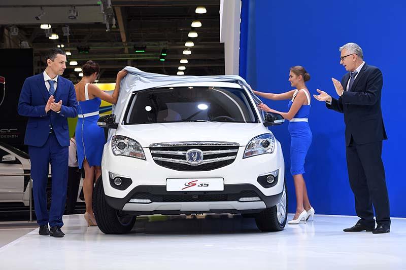 """Презентация автомобиля """"Changan CS35"""" на Московском международном автомобильном салоне-2016"""