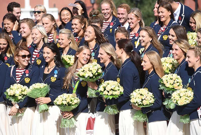 Российские спортсмены - победители и призеры Игр XXXI Олимпиады в Рио-де-Жанейро