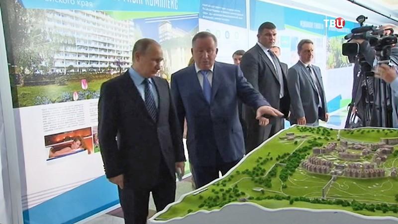 Рабочая поездка президента России Владимира Путина в Алтайский край