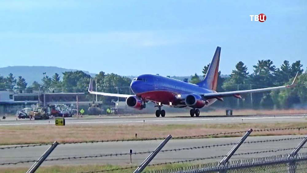 Самолет Boeing