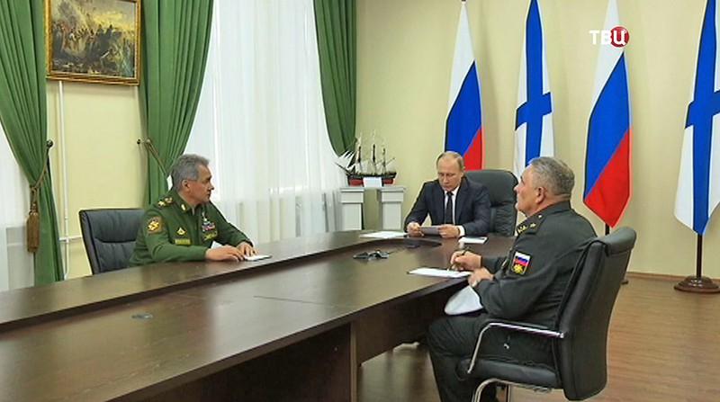 Владимир Путин в Нахимовском военно-морском училище