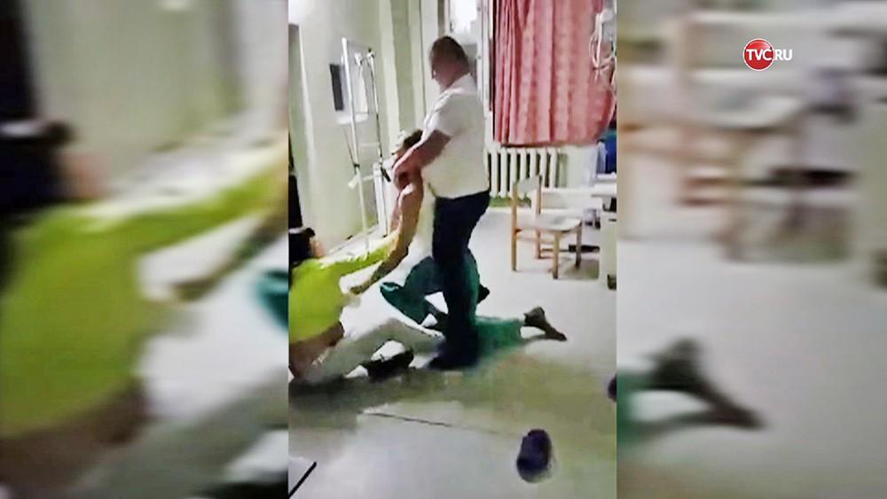 Избиение врача-рентгенолога в больнице города Орехово-Зуево