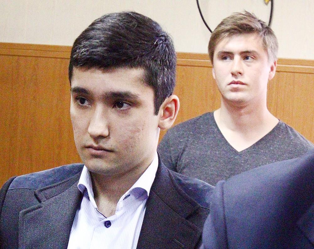 Участники гонок с полицией Руслан Шамсуаров и Виктор Усков в суде