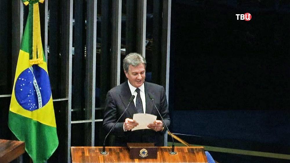 Заседание парламента Бразилии