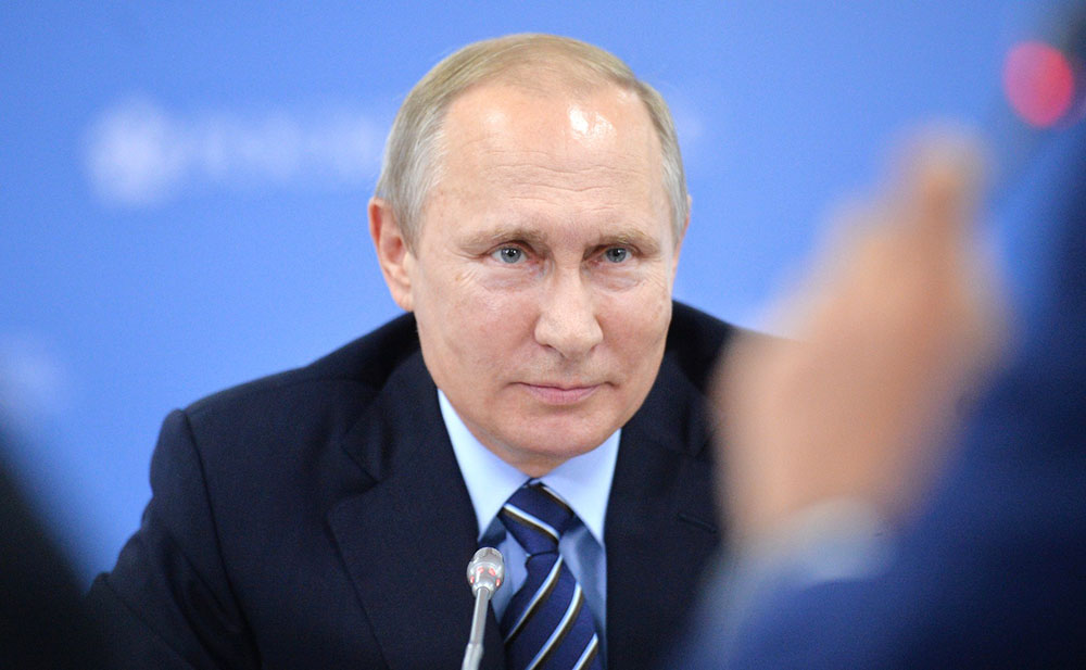 Владимир Путин на встрече с инвесторами Дальневосточного федерального округа
