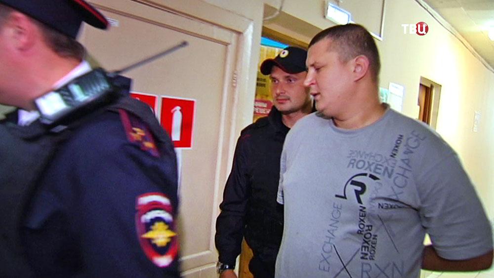 Обвиняемый по делу избиения врача в больнице Орехово-Зуева Алексей Мироненко