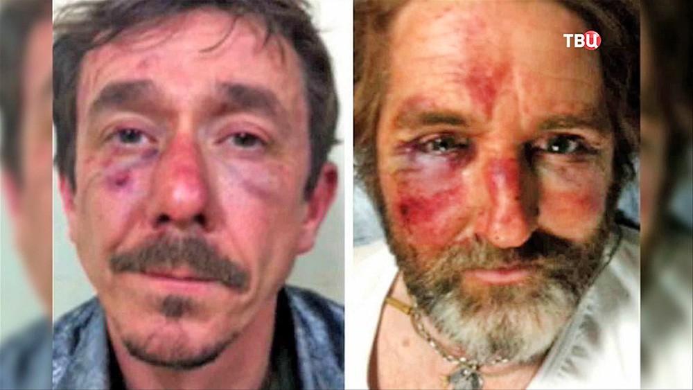 Британские журналисты после освобождения из плена