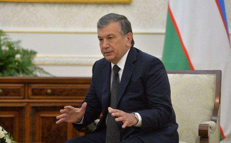 Временно исполняющий обязанности президента Узбекистана Шавкат Мирзиёев