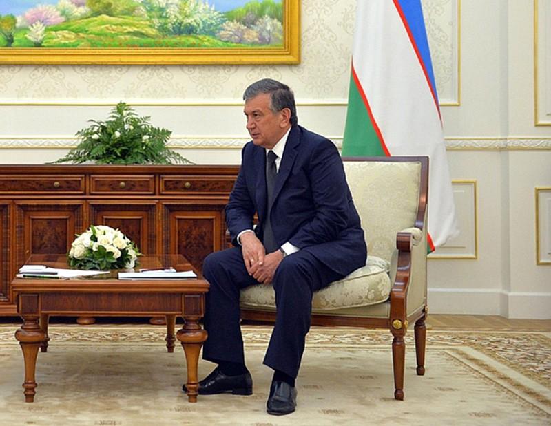 Избранный президент Узбекистана Шавкат Мирзиёев
