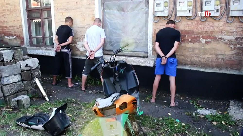 Задержанная в ДНР группа диверсантов