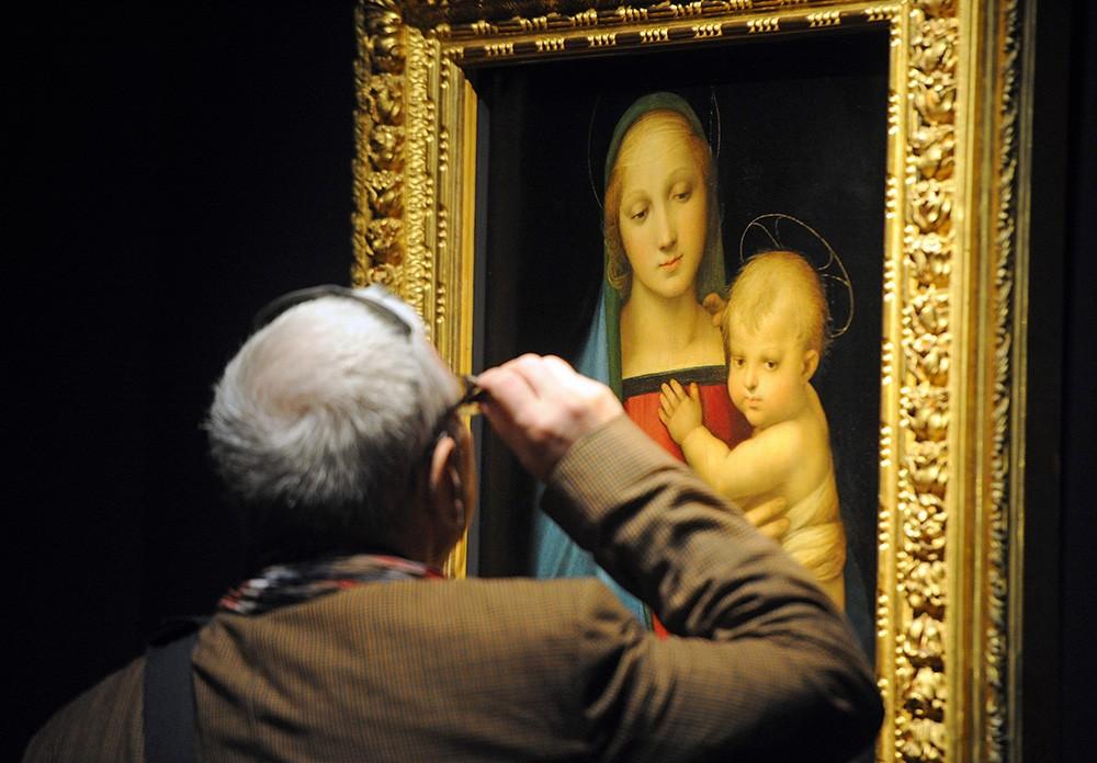 Выставка картин Рафаэля