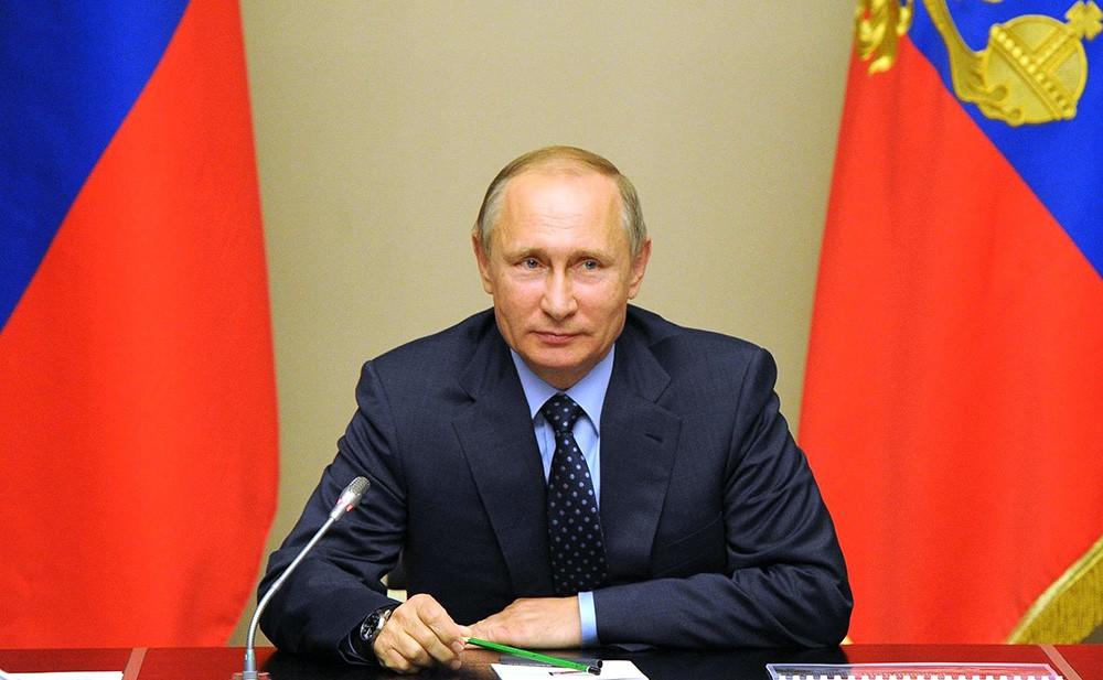 Президент России Владимир Путин провел заседание