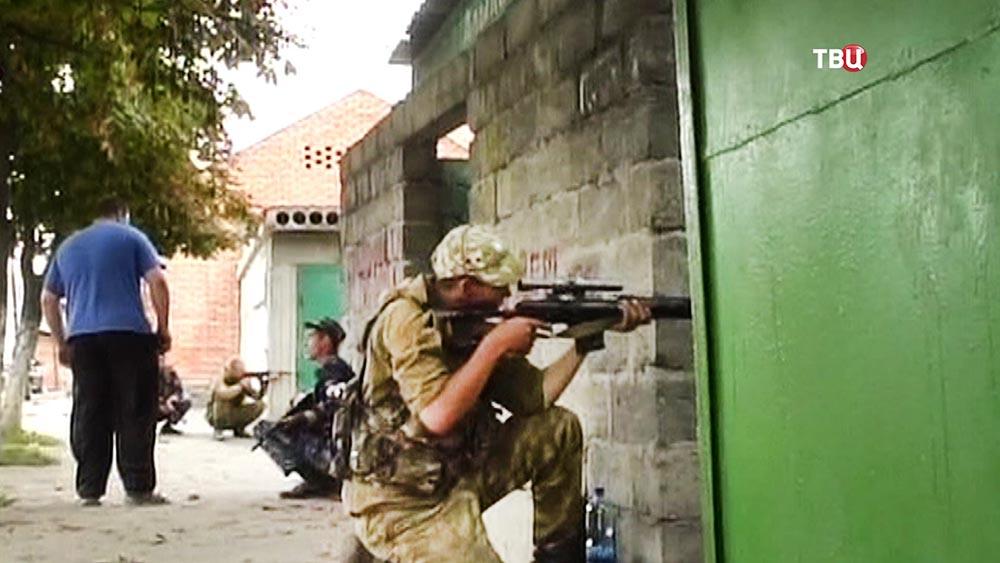 Спецоперация по освобождению захваченной школы в Беслане