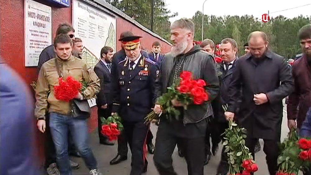 """Похороны бывшего командира спецподразделения """"Альфа"""" Юрия Торшина"""