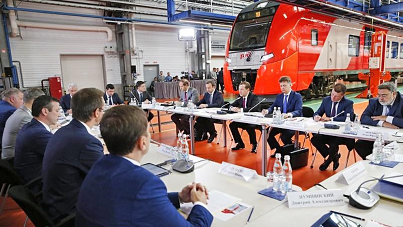 Совещание по вопросам развития пассажирских перевозок железнодорожным транспортом