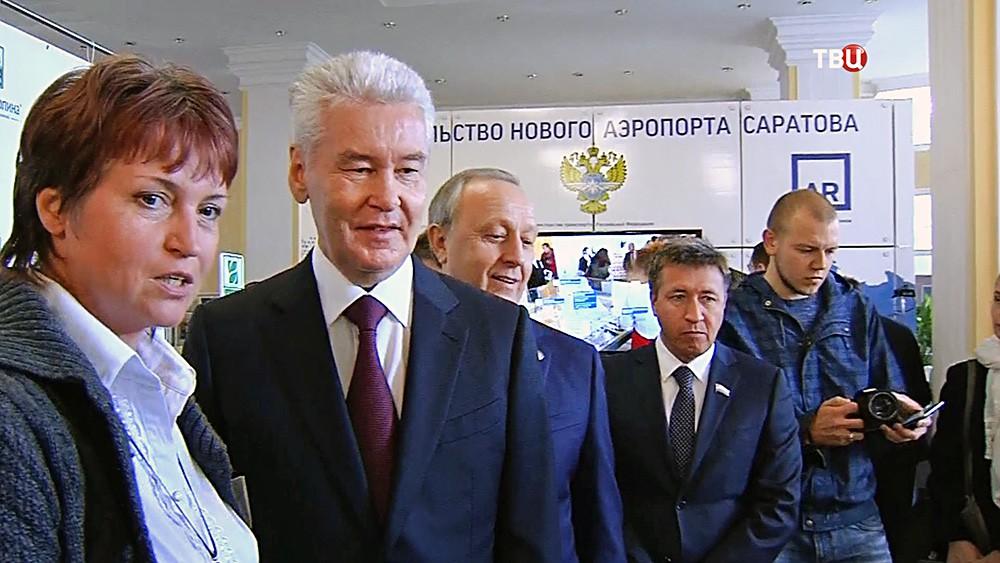 Сергей Собянин посетил ярмарку в Саратовской области