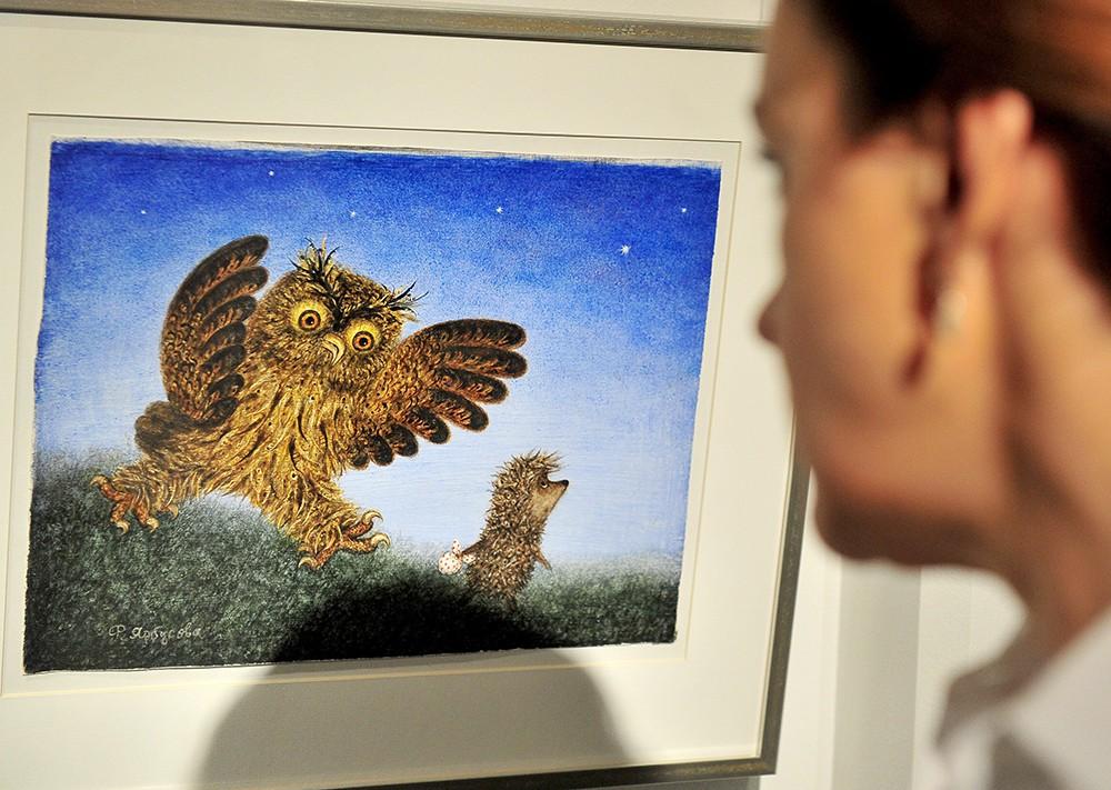Выставка работ художника-мультипликатора Юрия Норштейна
