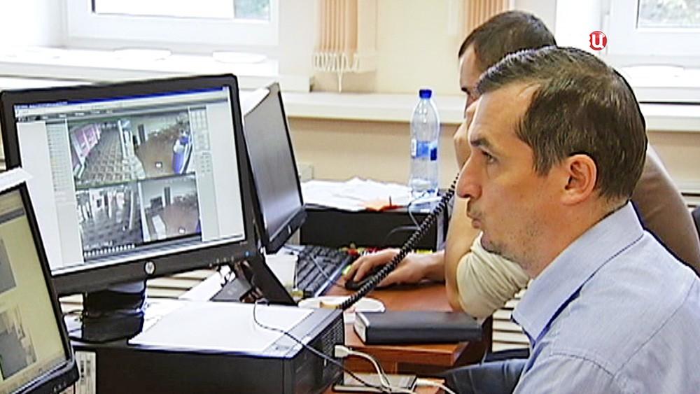Центр видеонаблюдения на избирательных участках