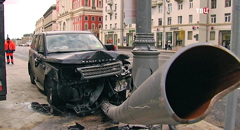ДТП на Тверской улице