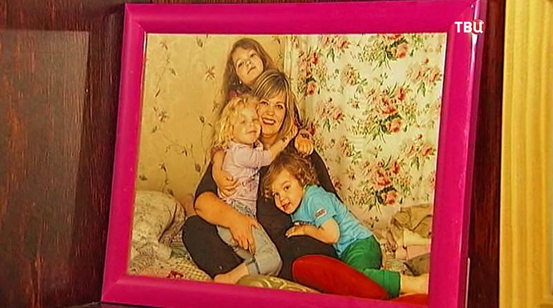 Виктория Медведева с детьми