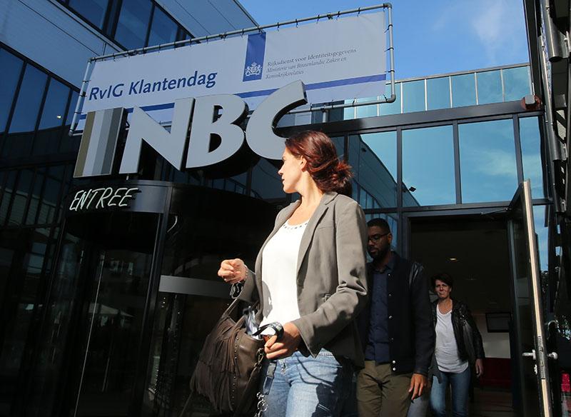 Конгресс-центр NBC в Ньювегейне, где пройдет представление доклада по расследованию крушения лайнера Boeing 777 Malaysia Airlines (рейс MH17) на востоке Украины